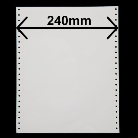 Listing 4 feuillets largeur 240mm