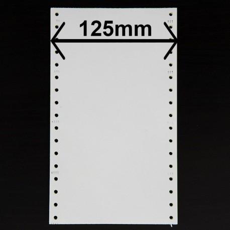 Listing 4 feuillets largeur 125mm