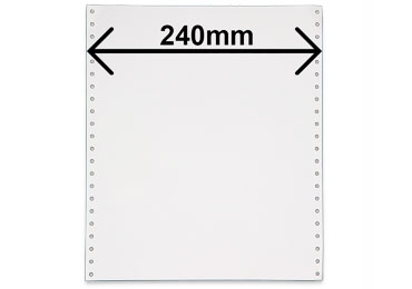 Listing 2 feuillets largeur 240mm