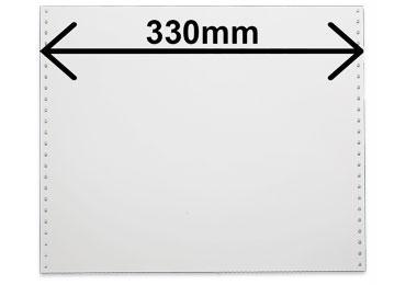 Listing 2 feuillets largeur 380mm